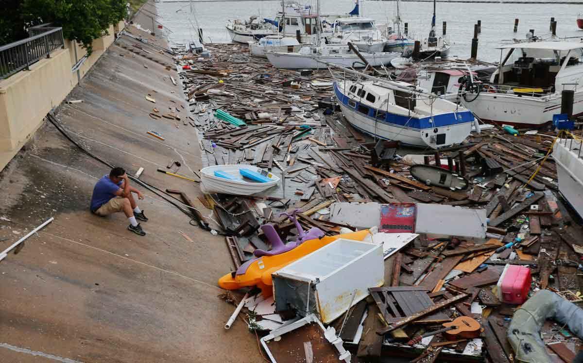 过去40年飓风强度加强
